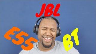 JBL E55BT unboxing