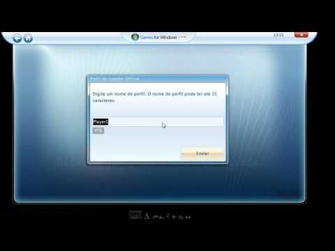 Como criar uma conta offline na Games for Windows Live