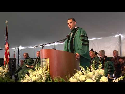What Is your AQ? Rich Negrin Commencement Address at Wagner College