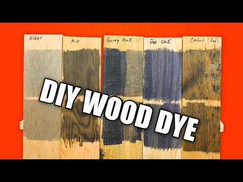 Save Money with DIY Wood Dye / Dyeing Wood Technique