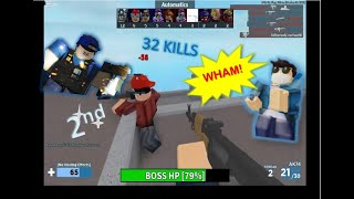 ROBLOX ARSENAL Gameplay | Full Match # 1
