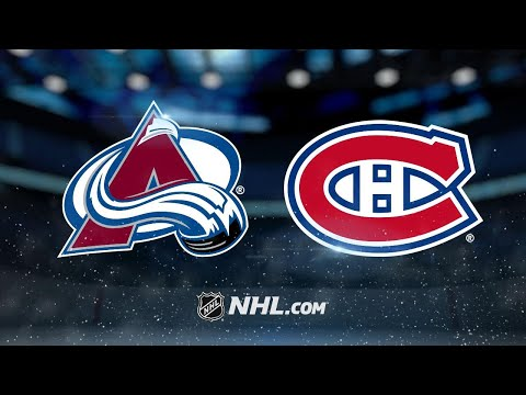 Drouin, Canadiens halt Avs' win streak