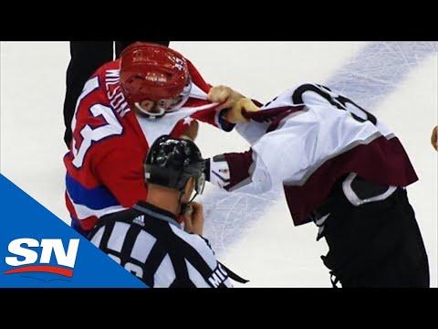 Tom Wilson Turns Ian Cole Into Human Punching Bag After Dirty Hit On Kuznetsov