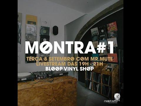 Bloop Vinyl Shop - Montra #1 com Mr. Mute