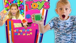 Toy Vending Machine KiDS Story Learning With Fidget Toys!