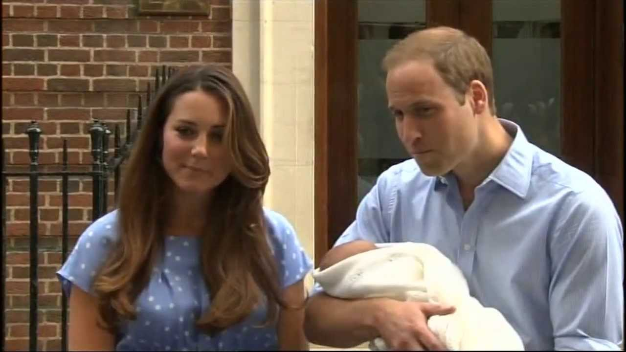 Royal couple leave hospital with their new son