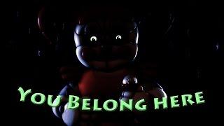 "[SFM][FNaF] ""You Belong Here"" (By JT Machinima)"