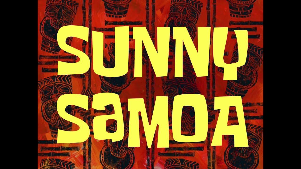 Spongebob Music Sunny Samoa Youtube