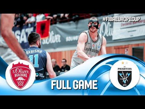 s.Oliver Würzburg v Z Mobile Prishtina - Full Game - FIBA Europe Cup 2019