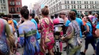 Repeat youtube video NYC Bodypainting Day 2016