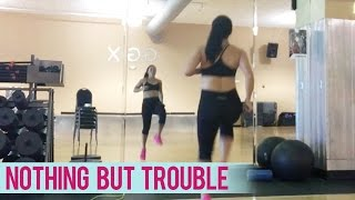 Lil Wayne & Charlie Puth - Nothing But Trouble (Lower Body Circuit) | Dance Fitness with Jessica