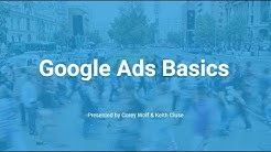 Google Ads Basics - Go from no idea to wow I can really do this!