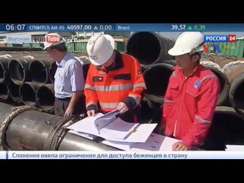 Nga khởi sự thăm dò dầu khí ngoài khơi VN