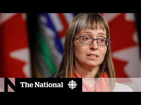 """CBC News: The National: Alberta enters COVID-19 """"danger zone"""" says province's top doctor"""