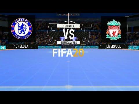 FIFA 20 | Chelsea vs Liverpool - Volta 5x5 Futsal - Full Match & Gameplay