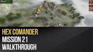 Hex Commander - Elvish Outpost Walkthrough (Mission 21)