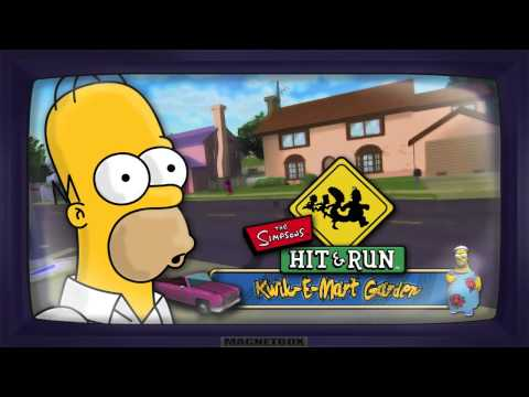 The Simpsons Hit & Run Soundtrack - Kwik-E-Mart Garden