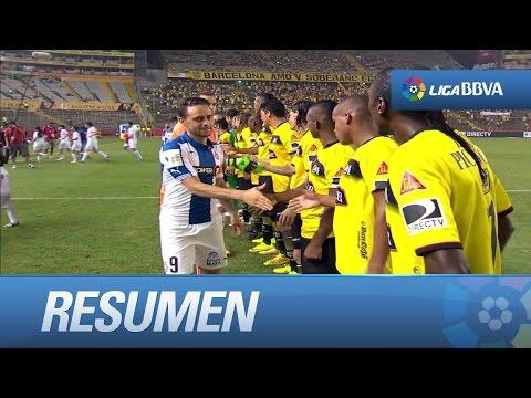 Resumen de Barcelona SC (1-0) RCD Espanyol