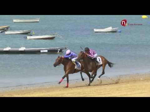 1 Carrera de Caballos, premio Havana Club - Jornada 26 de agosto 2016 - Sanlúcar de Barrameda