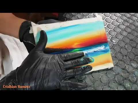 Finger Painting #9