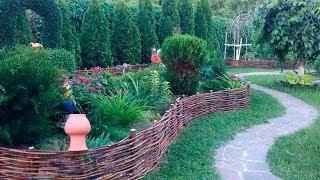 Забор плетеный(Видео-блог о дизайне, архитектуре и стиле. Идеи для тех кто обустраивает свой дом, квартиру, дачу, садовый..., 2014-05-20T07:04:59.000Z)
