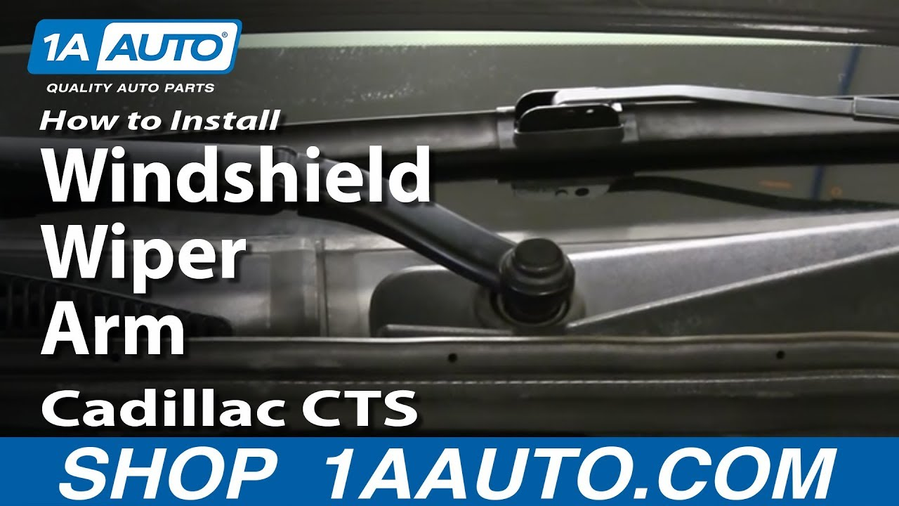 How To Install Replace Windshield Wiper Arm 2003 10
