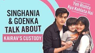 Yeh Rishta Kya Kehlata Hai: Singhanias & Goenkas talk about Kairav's custody