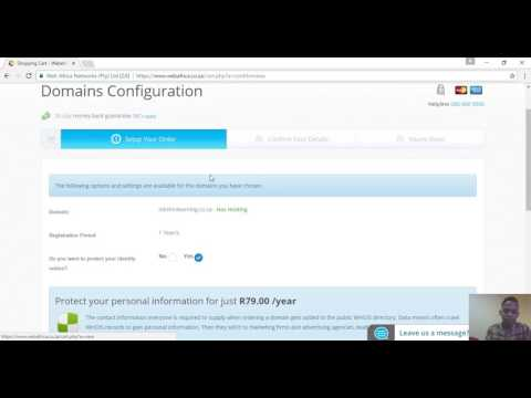 How to Create a Website in South Africa | Step 1 Buy a Domain Name And Webhosting