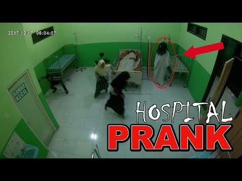 PRANK GHOST INDONESIA(Kuntilanak Prank) Part2. Parah...!!! Ngerjain Teman Di Rumah Sakit!!!