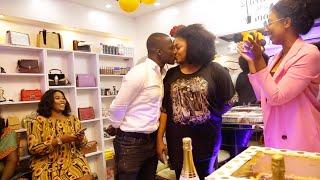 Zionfelix's Girlfriend, Minalyntouch Opens Makeup Shop - Salinko & wife, Benedicta Gafah, Others