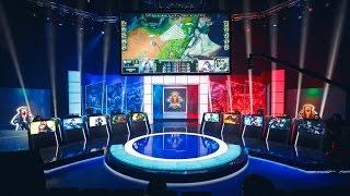 Добро пожаловать на киберспортивную арену League of Legends!
