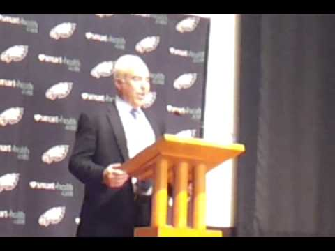 Eagles Owner Jeffrey Lurie End Of Season (Takes Media Questions) .mp4