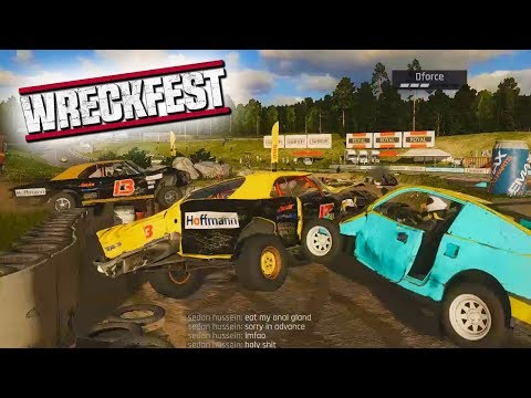 G18 RUINS ME! - Wreckfest with The Crew!