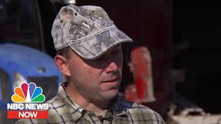 Struggling Wisconsin Dairy Farmer: 'Getting Bigger Is Not Always Better' | NBC News Now