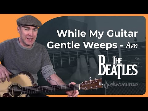 The Beatles - While My Guitar Gently Weeps [White Album key] George Harrison