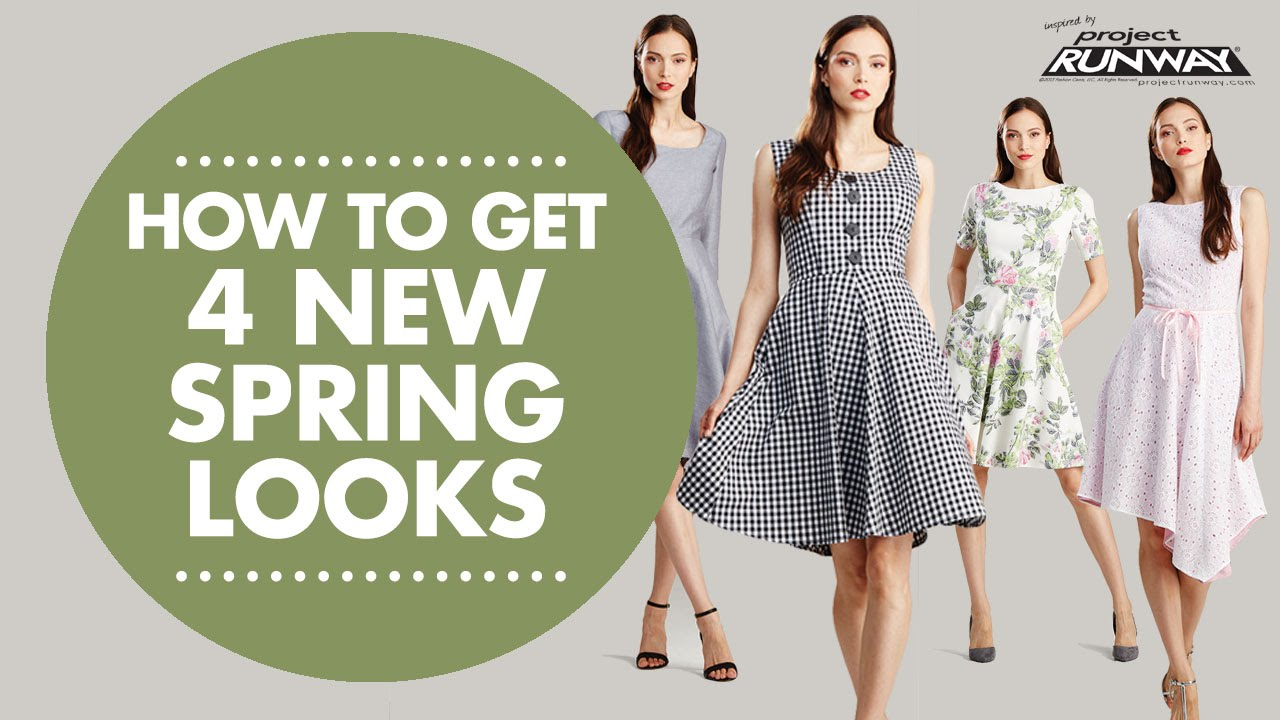 How to Get 7 New Spring Looks with Simplicity 8078
