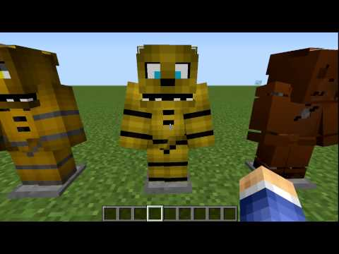 Minecraft fredbear s family diner resource pack showcase