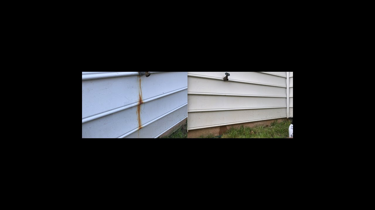 Remove Rust Stain From Vinyl Siding Easily