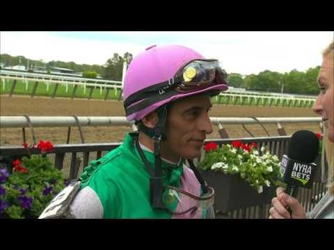 John Velazquez post Derby interview from Belmont Park