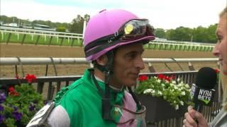 John Velazquez post Derby interview from Belmont Park