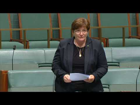 Anne Stanley - Main Chamber - Shipping Registration Amendment Bill 2018