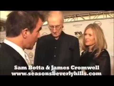 James Cromwell with Sam Botta `
