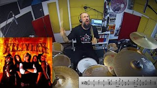 HellYeah - HellYeah Vinnie Paul Drum Cover by Edo Sala with Drum Charts