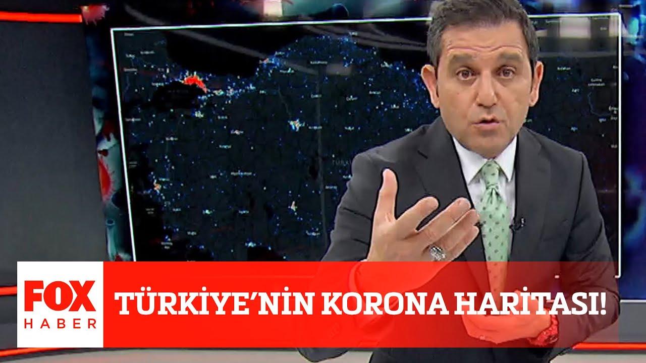 Türkiye'nin korona haritası! 8 Nisan 2020 Fatih Portakal ile FOX ...