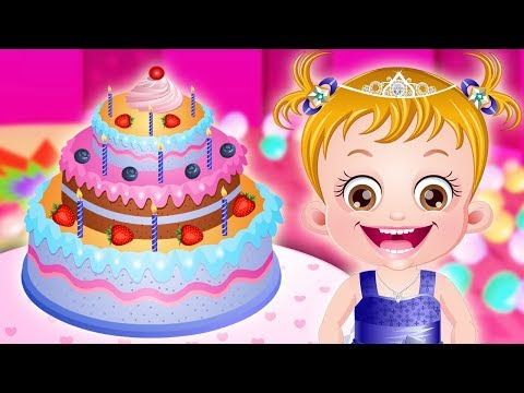 Baby Hazel Celebrates Birthday | Fun Games For Kids to Play by Baby Hazel Games
