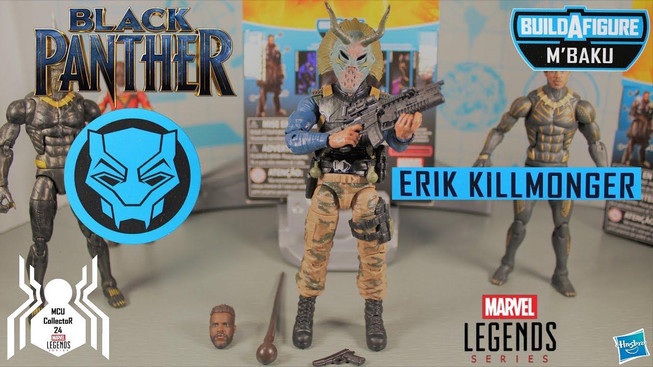 FIGURE ~ Black Panther Series 2 Marvel Legends ~ ERIK KILLMONGER MILITARY