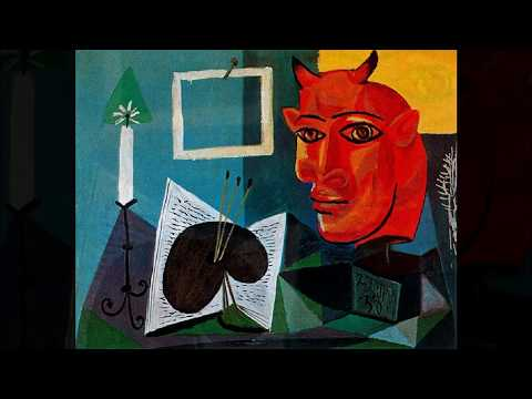Pablo Picasso  巴勃羅·畢卡索 (1881-1973)  Cubism Spanish