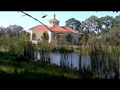 St. Mark American Orthodox Church lake in Bradenton