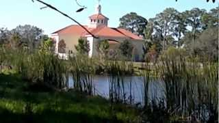 St. Mark American Orthodox Church lake in Bradenton