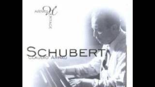 Schubert by Arrau - (Part 1/2) Impromptu op. 142 No 3 in B flat,  D. 935